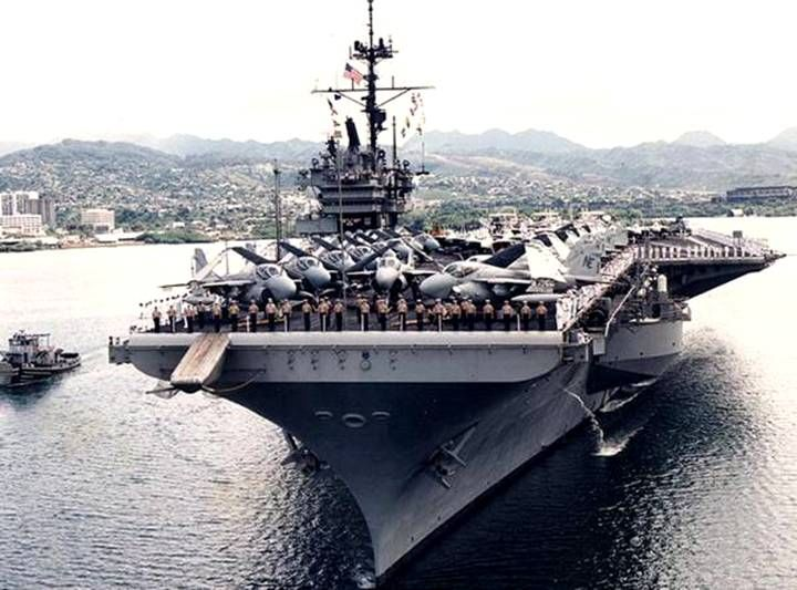 USS Ranger CVA CV 61 - Aircraft Carrier - US Navy - Seaforces Online