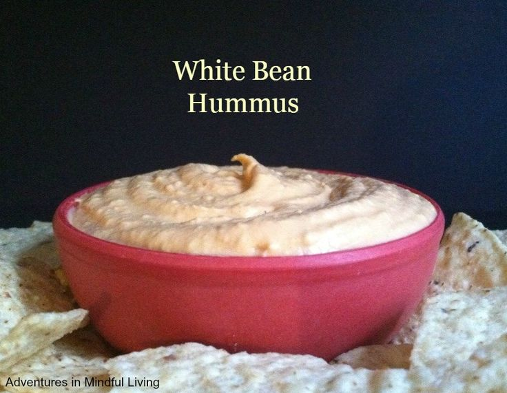 White Bean Hummus! A super easy to make  healthy snack! Make your own and save yourself some money!!