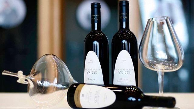 Vinos de Bodegas Ysios.