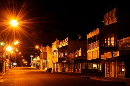 Charters Towers is a city in northern Queensland, Australia and boomed during the development of rich gold deposits under the city. The town became a major mining and business center during the Charter Towers gold rush in the 1870's. The region is drained by the Burdekin River.