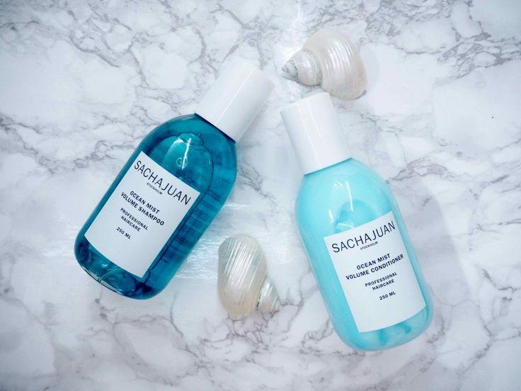 OSTOLAKOSSA: SACHAJUAN Ocean Mist Volume Shampoo ja hoitoaine tuovat täydellistä tuuheutusta.
