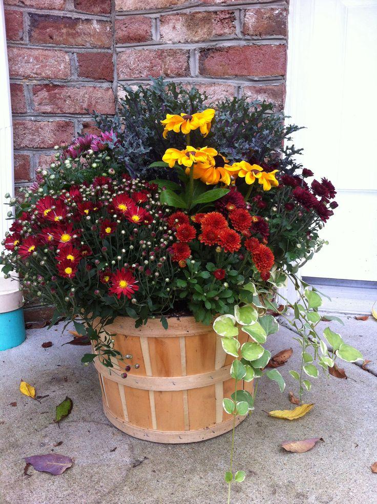My fall bushel basket
