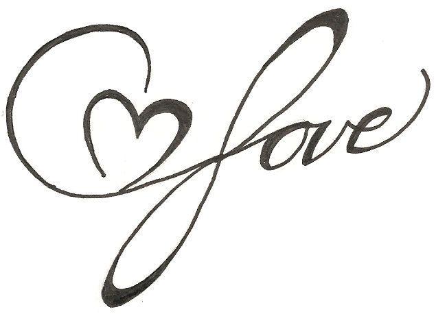 Infinite+Love+Heart+Drawing+Original+Tattoo+by+silverwingstattoos,+$11.00