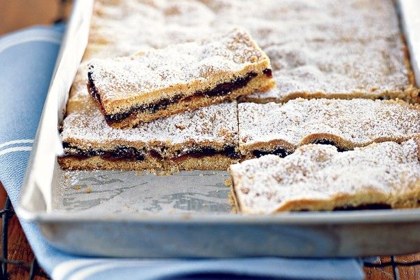 Use up leftover fruit mince in this moreish fruit slice recipe.