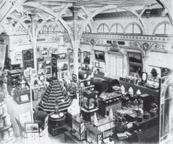 interior view of the Garden Palace, view of Victoria Court No. 3, Roberts Richard & Co.,1879.
