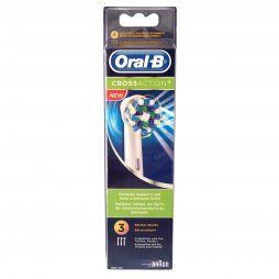 Oral-B Recambio Cross Action 3 Uds.
