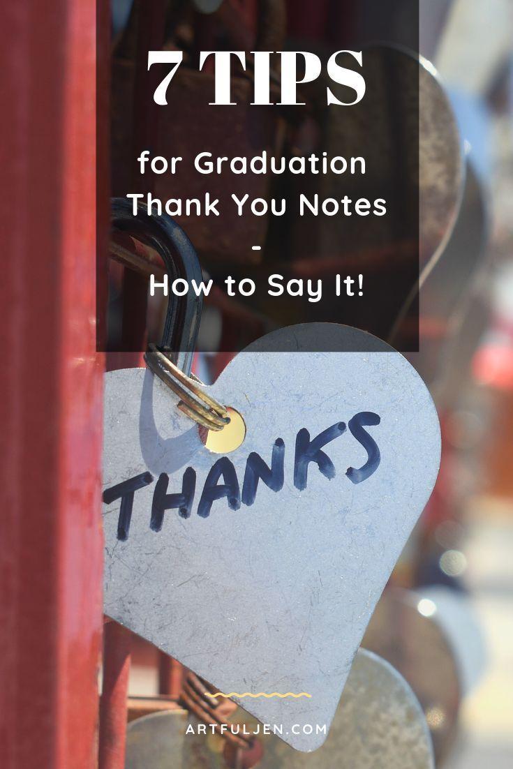 graduation thank you notes should i send them  thank