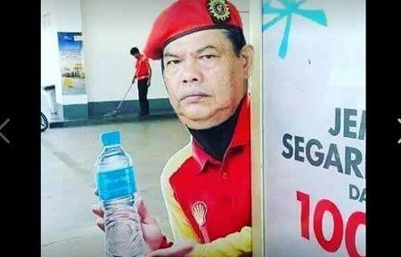 Tarik Balik Poster Gadis Shell  Ayahanda Rani Kulup Secara Automatik Jadi Model Shell Serta-merta ?? http://ift.tt/2tnLeJo