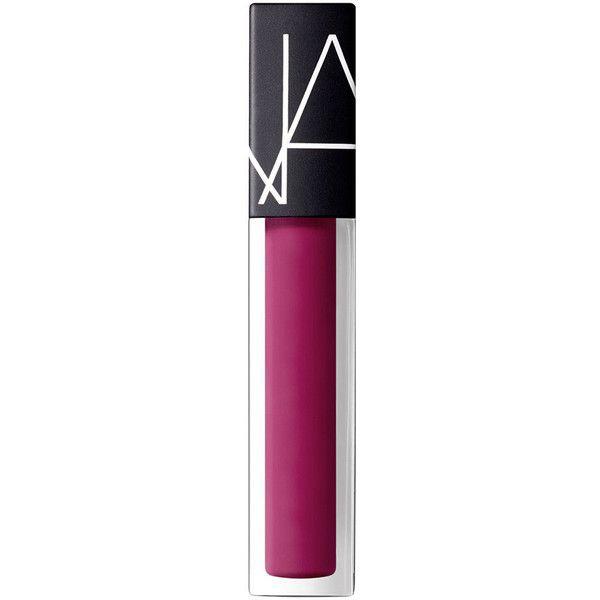 NARS La Main Bleue Velvet Lip Glide - La Main Bleue ($26) ❤ liked on Polyvore featuring beauty products, makeup, lip makeup, la main bleue, nars cosmetics and lip gloss makeup