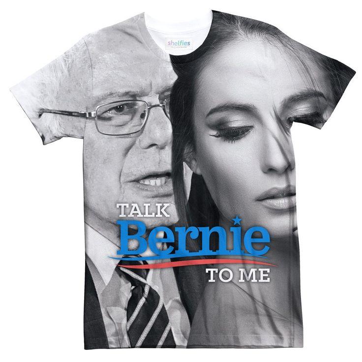 T Shirts - Talk Bernie To Me Tee