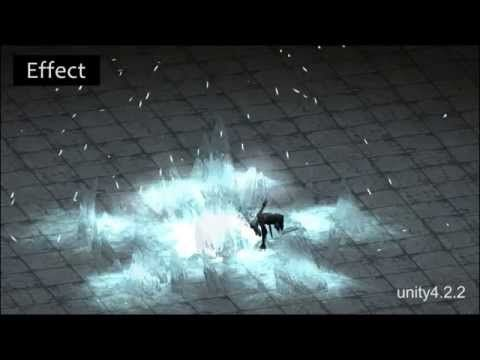 Game effect portfolio and animation - YouTube