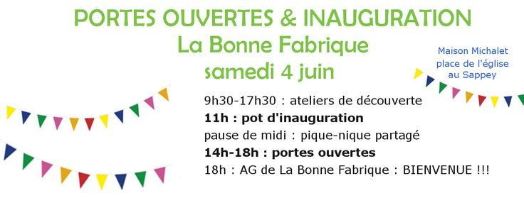 LA BONNE FABRIQUE – Plateforme d'activités collaboratives et intergénérationnelles au Sappey en Chartreuse