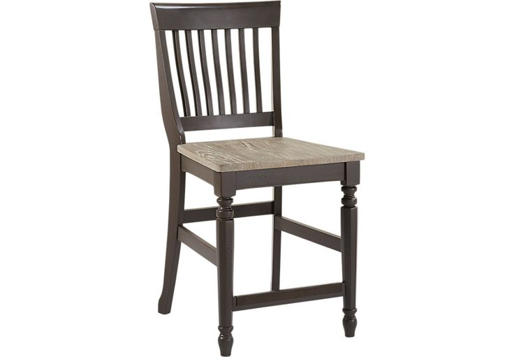 Cindy Crawford Home Ocean Grove Gray Wood Back Counter Height Stool.124.99. Barstool: 19W x 17D x 41H, Seat Height: 23.5H. Find affordable Barstools for your home that will complement the rest of your furniture. #iSofa #roomstogo