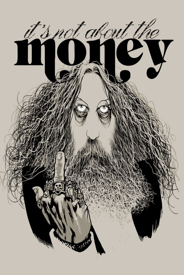 Alan Moore - It's not about the money