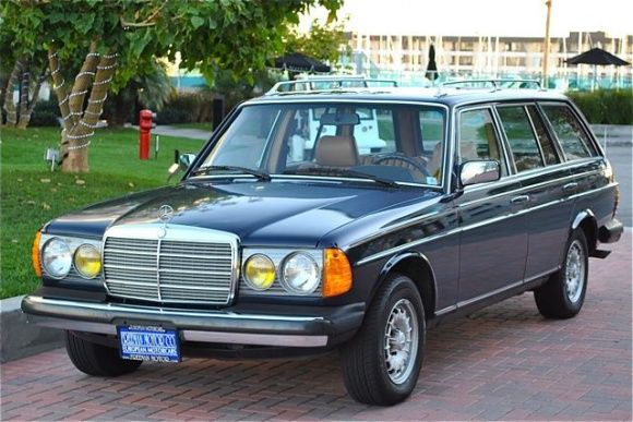 old mercedes station wagon converted to bio diesel?  Yes, please...