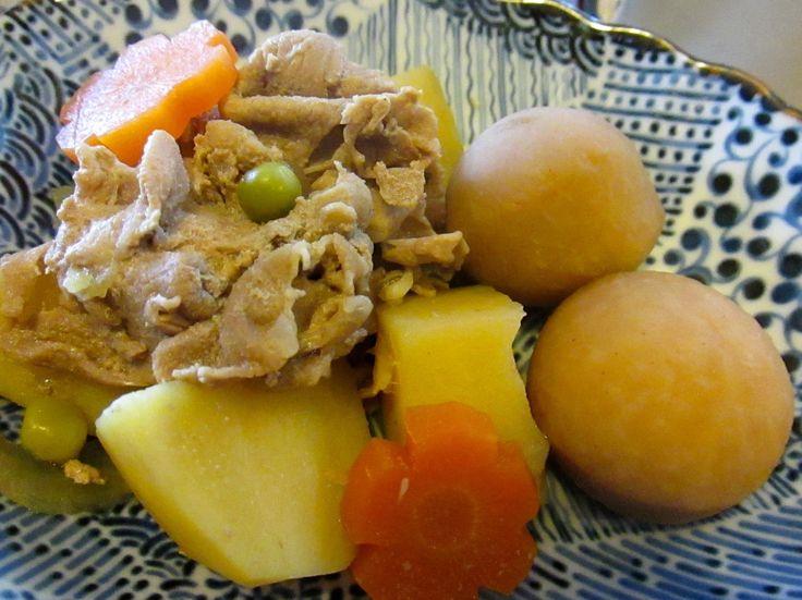肉じゃが、里芋の煮物