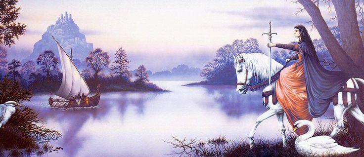 http://mundodelivros.com/as-brumas-de-avalon/ - Hoje, dez anos depois de ter lido a saga As Brumas de Avalon, volto a revisitar o mundo de Camelot, a passar por entre o seu manto de neblina e a contar-vos a história do Rei Artur e da sua meia-irmã Morgaine. Pelo menos, segundo a perspetiva de Marion Zimmer Bradley.