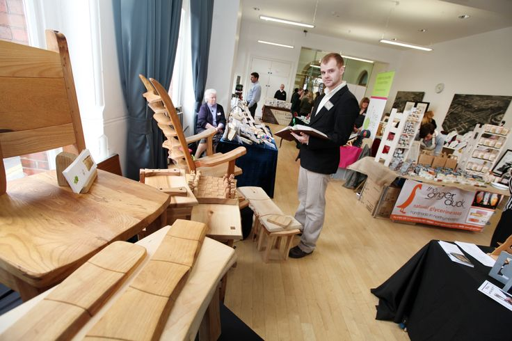 Meet the maker event at Morpeth town hall
