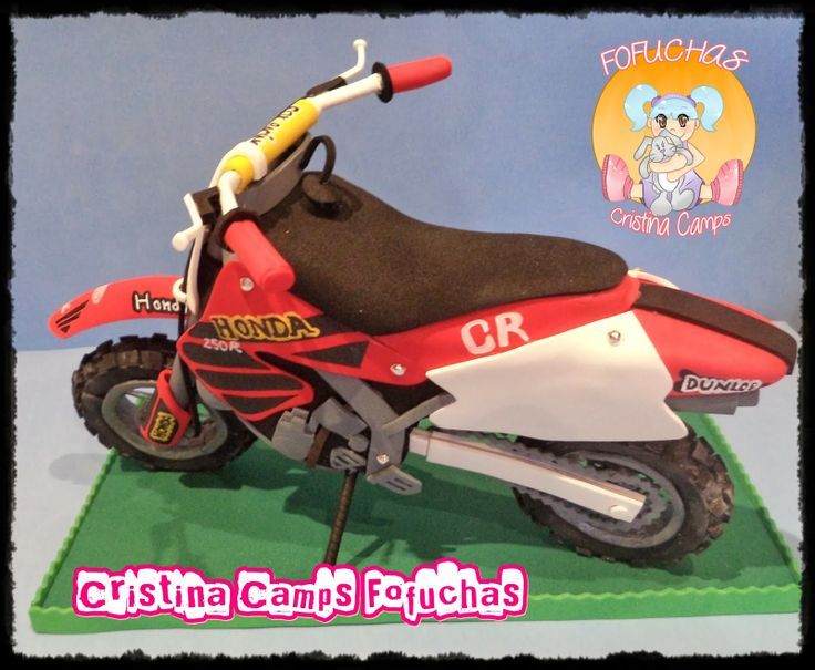 Cristina Camps Fofuchas: fofucha moto