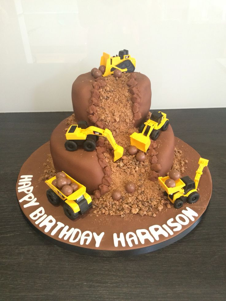 Digger Cake by Victoria Defty Couture Cakes!