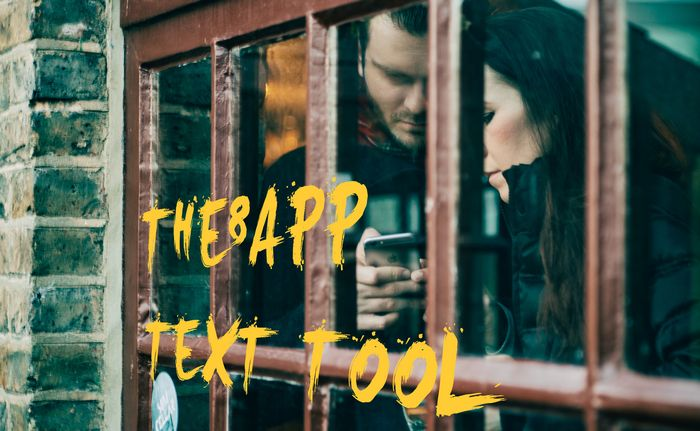 The8App Text Tool #howto8app #socialapp #socialmedia