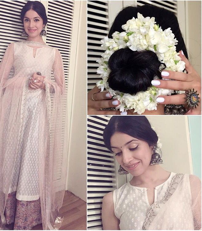 Anju Modi # Pallazo love # Divya Khosla # summer love # Indian look #