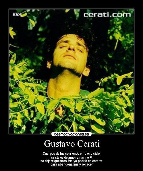 Amor Amarillo-Gustavo Cerati