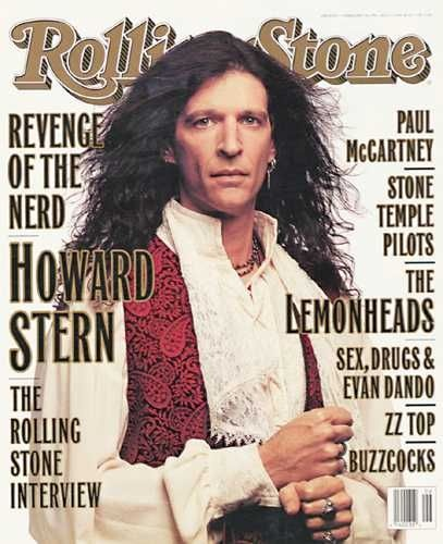 Howard Stern Magazine Cover Photos - List of magazine covers featuring Howard Stern