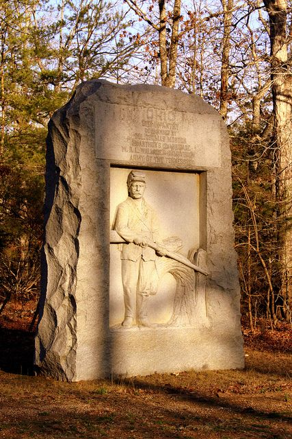battle of shiloh monuments   Shiloh Battlefield: An Ohio Monument   Flickr - Photo Sharing!