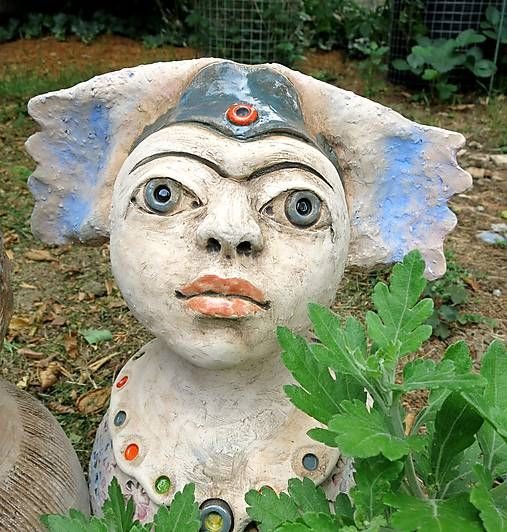 e-keramika / kvetová víla