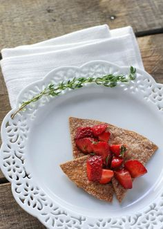 Cinnamon Tortilla Ch Cinnamon Tortilla Chips with Strawberry Salsa - FoodBabbles.com Recipe : http://ift.tt/1hGiZgA And @ItsNutella  http://ift.tt/2v8iUYW