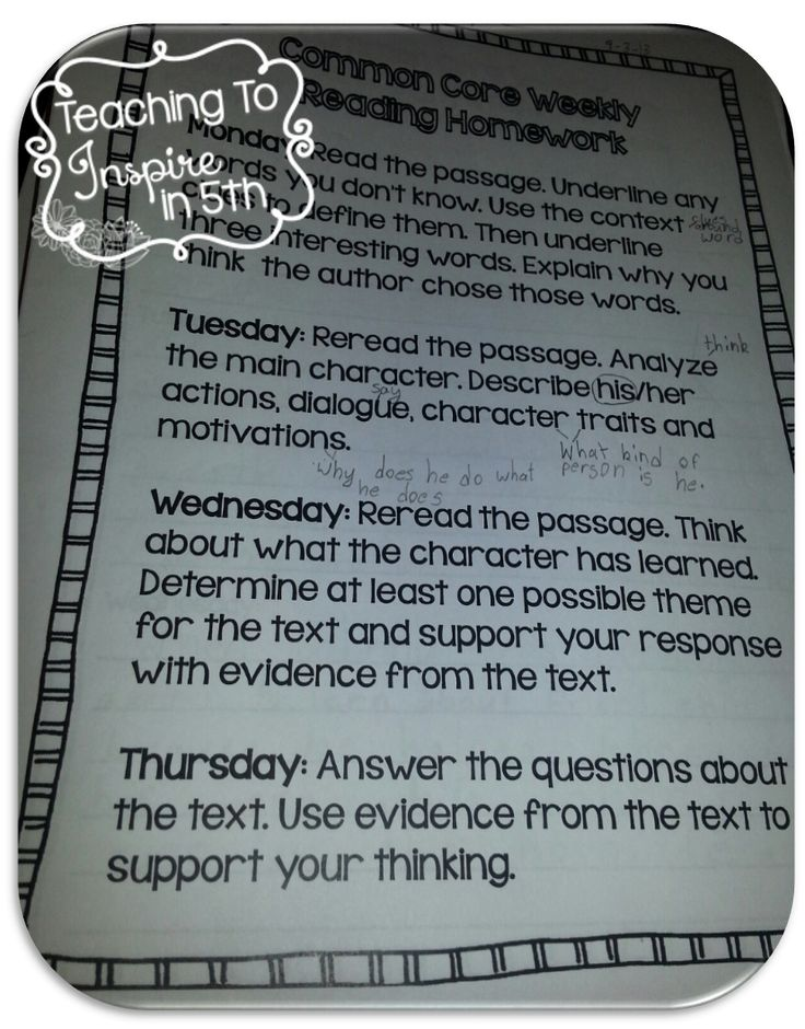 3rd Grade and 4th/5th Grade Common Core Aligned Weekly Reading for the ENTIRE year!...blog post with examples and details $