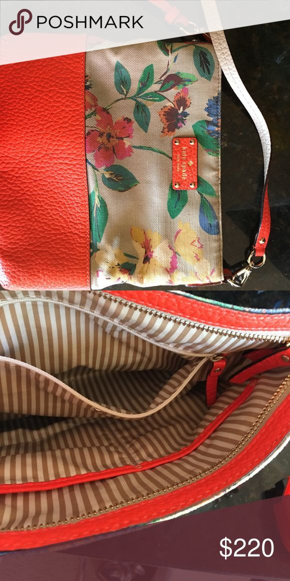 Kate spade crossover purse Great condition! Perfect for spring!  10x10.5 in . kate spade Bags Shoulder Bags