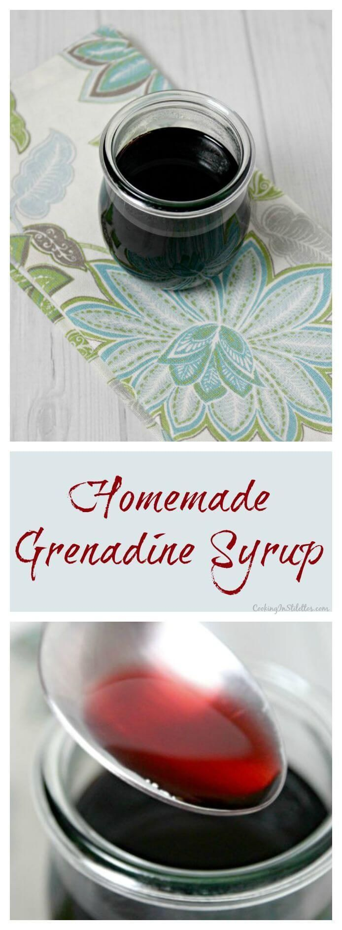Homemade Grenadine Syrup[/b | Recipe | Homemade, Cooking and ...