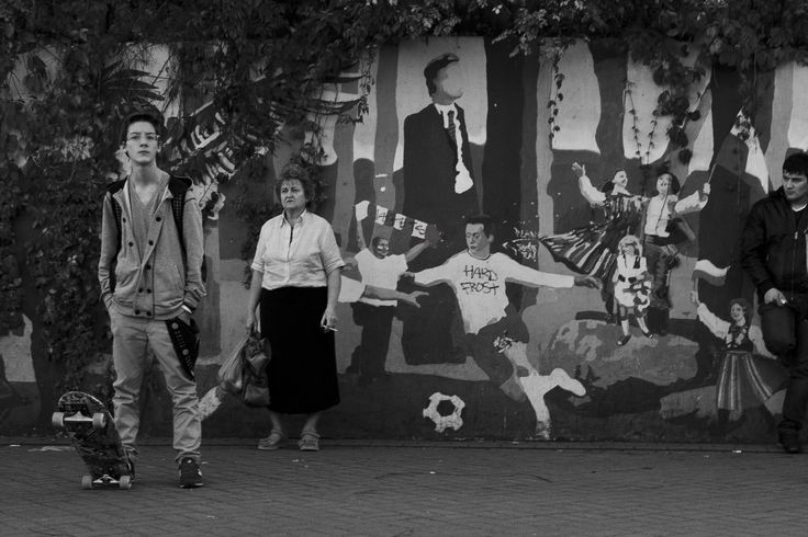 The Skater, The Smoker, And The Footballer  Warsaw, Poland