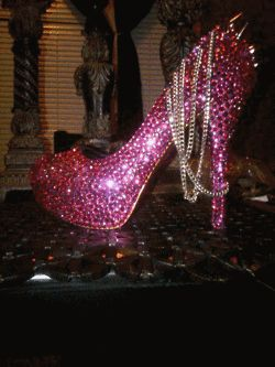 Just give me some rhinestones and some E6000 glue and I'll make my own sparkly shoe!