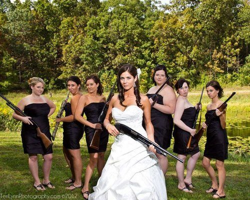 Shotgun Wedding.. actually a little sexy.