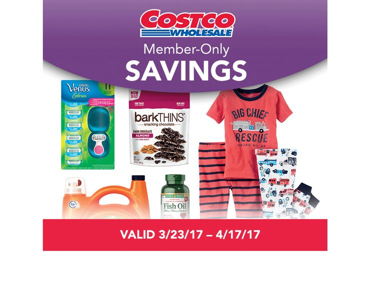 Costco Ad Warehouse Coupon March 23 - April 17, 2017 - http://www.olcatalog.com/costco/costco-ad.html