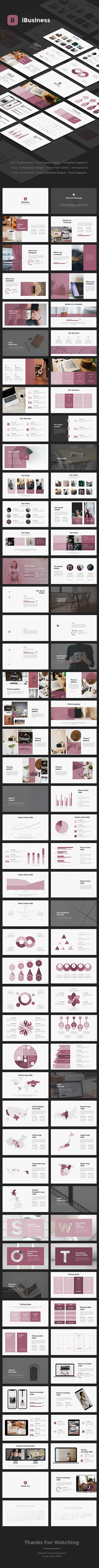 #iBusiness #Google #Slides - Google Slides Presentation Templates
