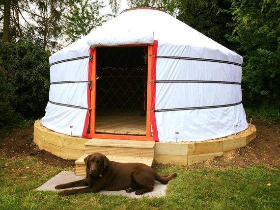 Yurt yurt portátil Camping mongol tienda de lona por Mongolianstore