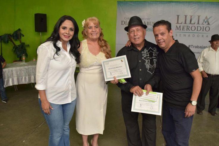 Gobiernos deben destinar presupuestos importantes para el adulto mayor: Lilia Merodio festeja a 650 adultos mayores en Chihuahua