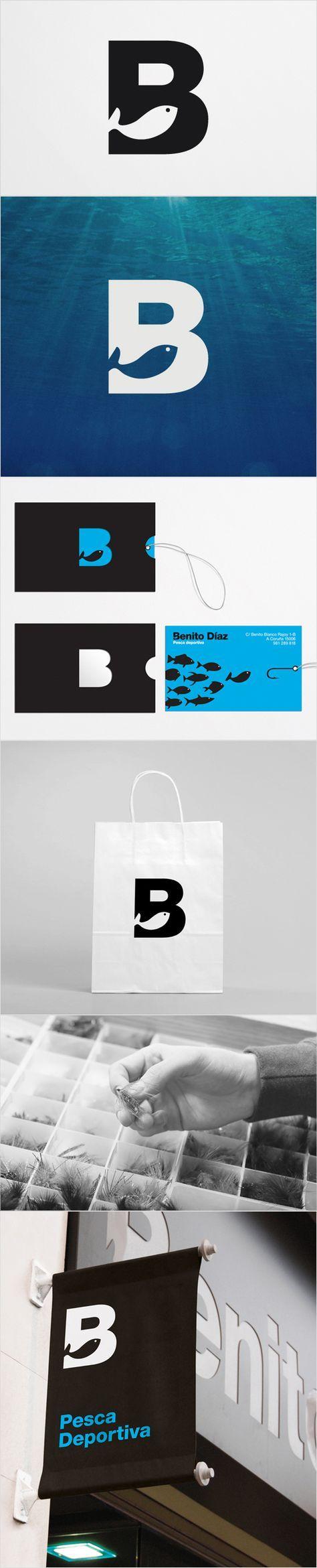 "Sport Fishing Logo: Benito Díaz - David de la Fuente <a href=""http://www.daviddelafuente.com"" rel=""nofollow"" target=""_blank"">www.daviddelafuen...</a>"