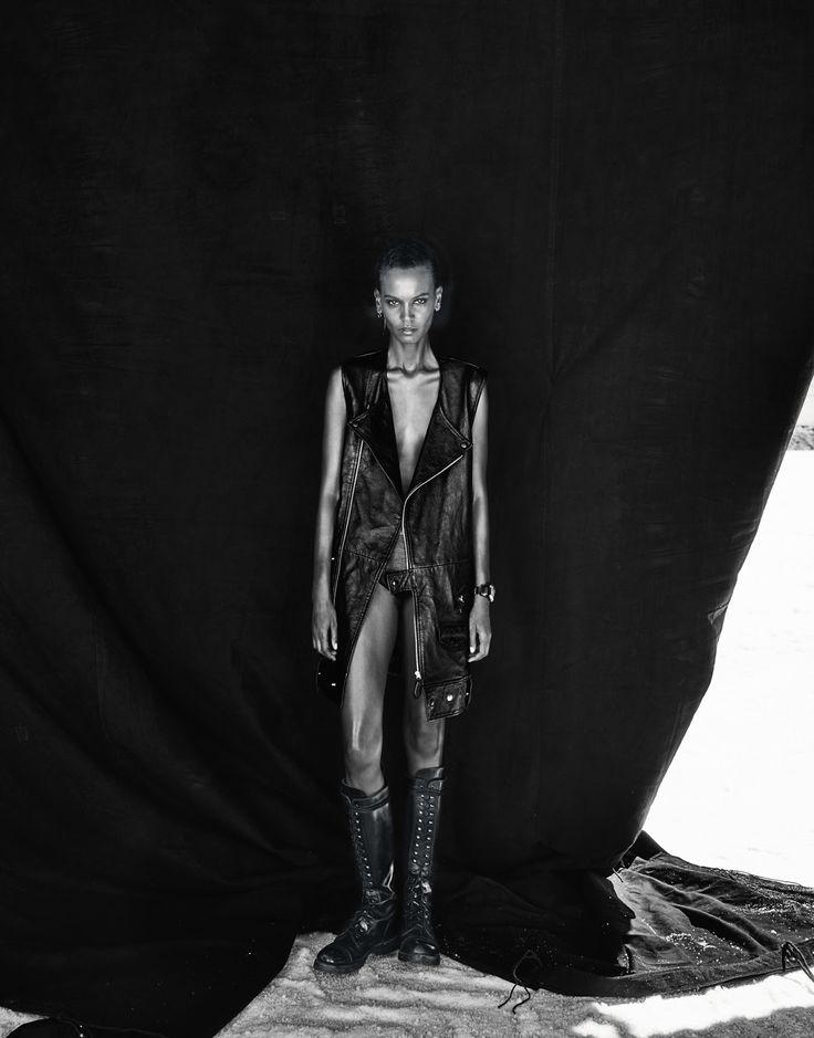 Liya Kebede by Chris Colls for Porter Magazine Winter Escape 2015