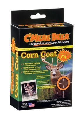 C'Mere Deer Corn Coat Deer Attractant Pre-Measured Pouches