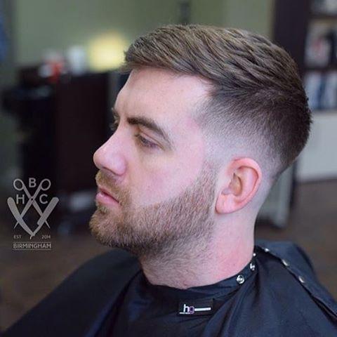 Haircut done by @harrybirdcuts  #Ukbarber...