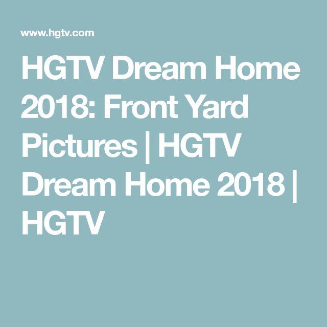 HGTV Dream Home 2018: Front Yard Pictures   HGTV Dream Home 2018   HGTV