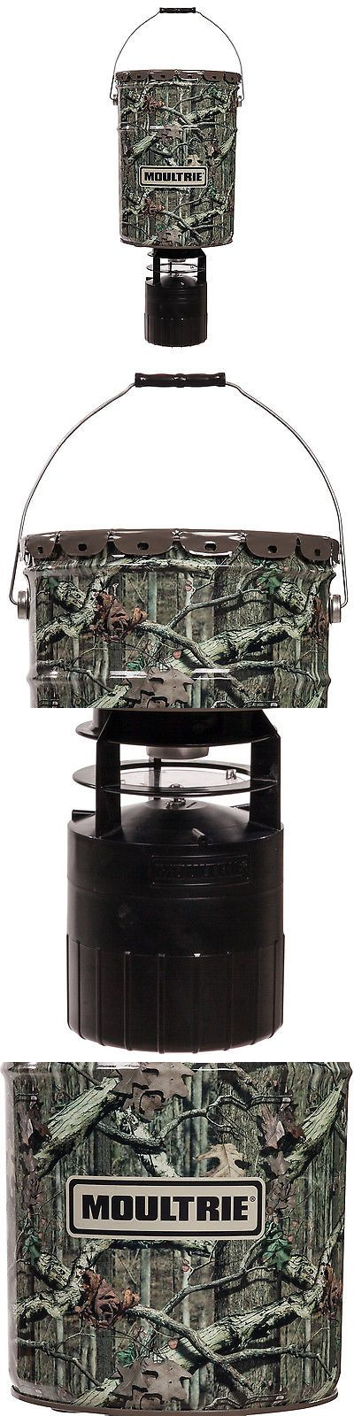 Game Feeders and Feed 52504: Moultrie 6.5 Gallon Econo Plus Hanging Deer Feeder With Photocell Timer | Mfh-Ep BUY IT NOW ONLY: $48.95