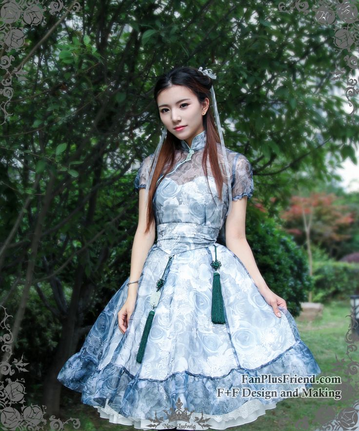 fanplusfriend - Shui Mo Qi Lolita Wash Painting Floral 4pcs Dress Set*Instant Shipping, $155.00 (http://www.fanplusfriend.com/shui-mo-qi-lolita-wash-painting-floral-4pcs-dress-set-instant-shipping/)