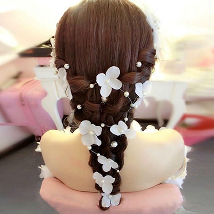 Искусственные цветы для украшения нового гирлянды цветов свадебные принадлежности гирлянды свадебные ну вечеринку украшения головной убор украшения купить на AliExpress