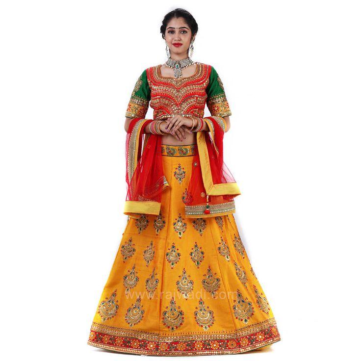 Wedding Embroidered Choli Suit with Dupatta #rajwadi #cholisuit #readycholi #lehengas #embroidered #FeelRoyal #bridal #colorful